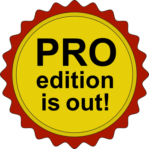 PRO edition is out!
